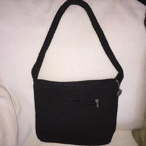 The SAK Black shoulder bag- in excellent condition